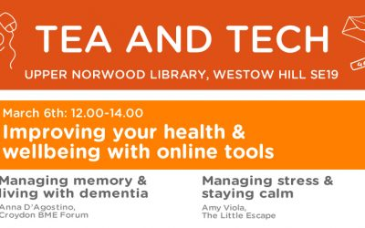 Managing health with online tools (Memory Loss & Stress)