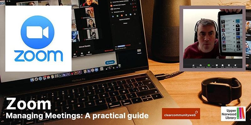 Zoom: Managing meetings