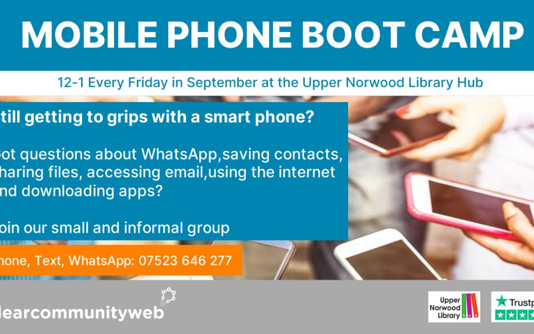 Mobile Phone Boot Camp